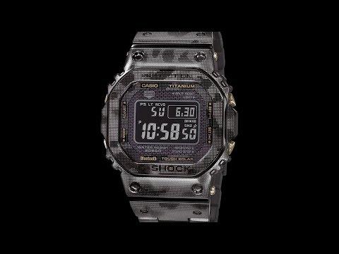 Casio представляет модель G-Shock камуфляж полностью из титана