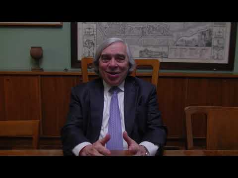 Ernest Moniz interview at the University of Padova