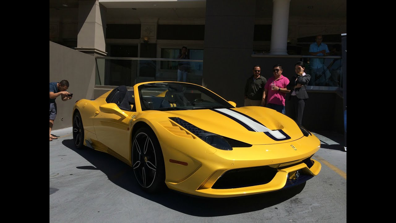 ferrari 458 speciale aperta owned by david lee youtube. Black Bedroom Furniture Sets. Home Design Ideas