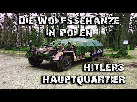 Die Wolfsschanze I Hitlers Hauptquartier in Polen