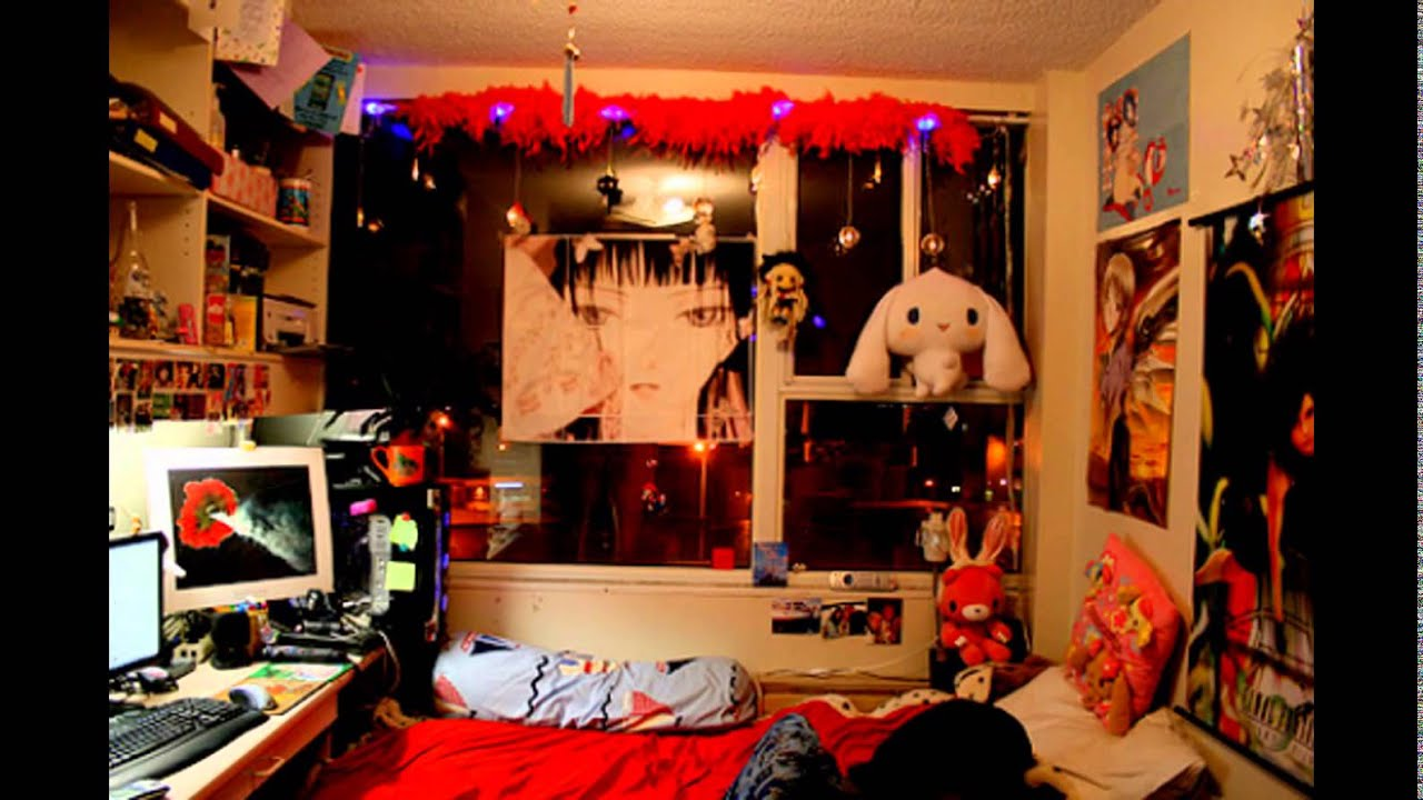 Japanese anime bedroom ideas youtube for Anime bedroom ideas
