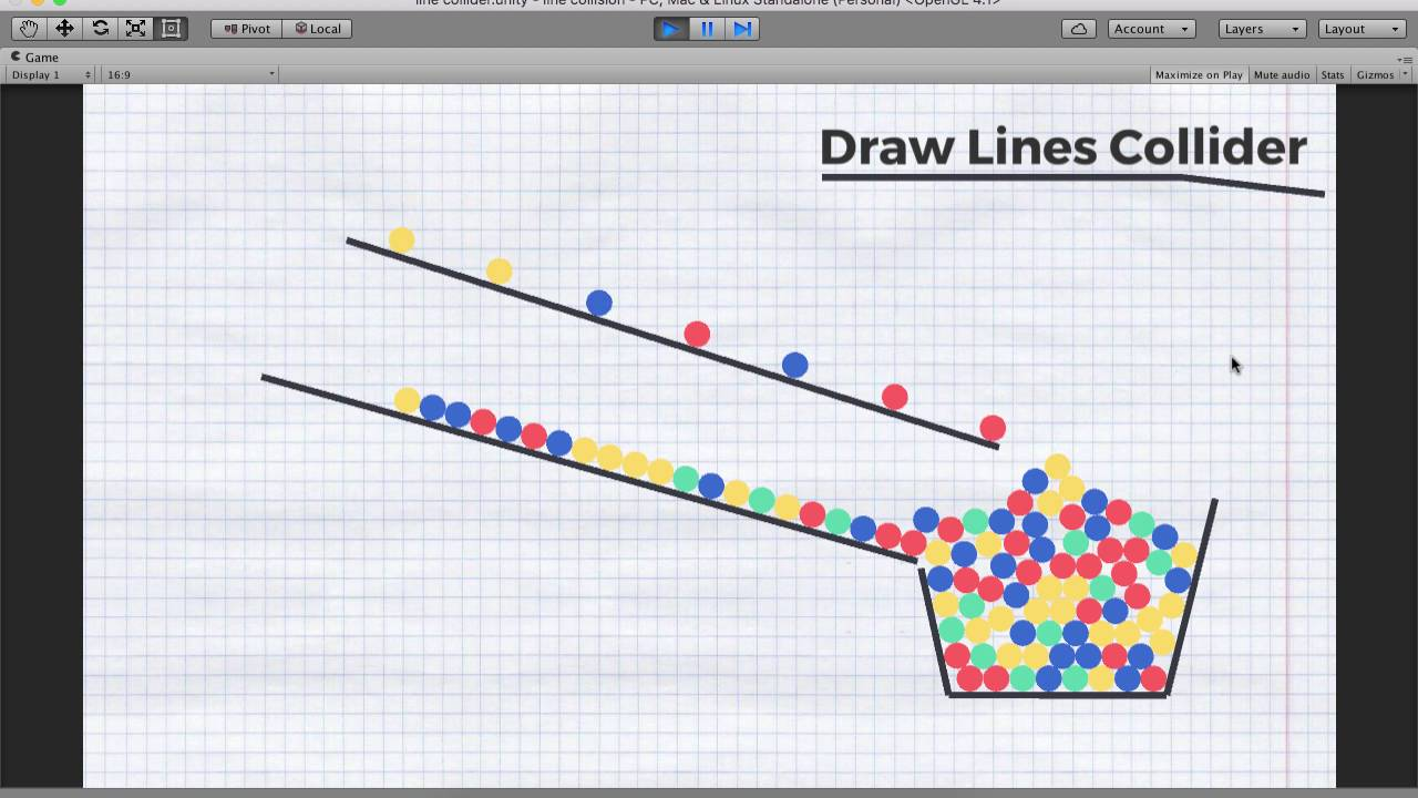 Drawing Lines In Unity : Draw lines collider unity asset store youtube