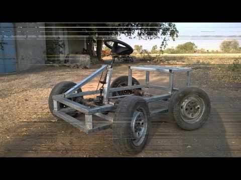 Four Wheel Steerign Mechanism