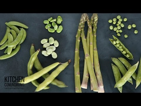 How to Buy and Prepare Spring Vegetables Kitchen Conundrums with Thomas Joseph
