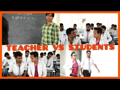 Teacher vs students | missing school day  Result ka mahool | Real heroes iglas