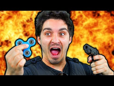 Fidget Spinners: The Action Movie [Trailer Parody]