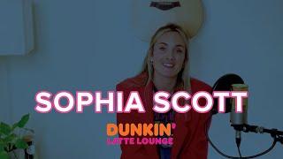 Sophia Scott Performs At The Dunkin Latte Lounge!