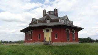 Gregg-crites Octagon House Circleville, Ohio (part 1)