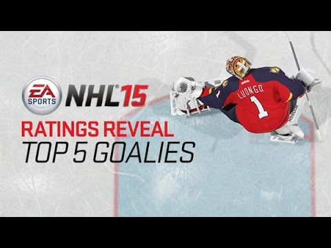 NHL 15 BEST GOALIES IN THE GAME! (Top 5 Highest Rated Goalies)