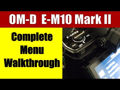 Olympus Menu Walkthrough: All my settings explained! ep.49