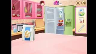 мультик игра готовим пончики с Сарой серия 1 онлайн