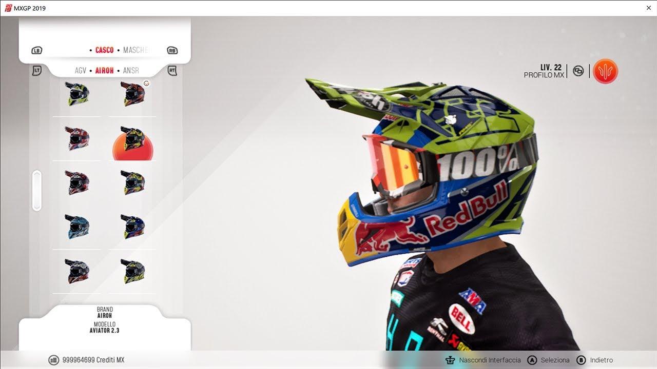 Mxgp 2019 Redbull Helmets For Custom Rider Pak 1 Version 1