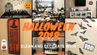 --Halloween 2018-- Clean and Decorate with me!