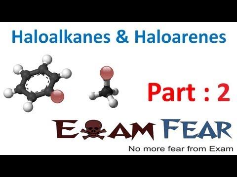 Chemistry Haloalkanes & Haloarenes part 2 (Classification) CBSE class 12 XII