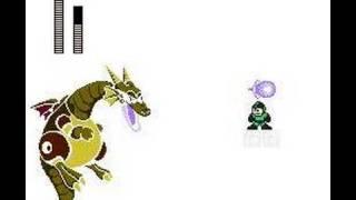Rockman NC hard mode Mega Dragon