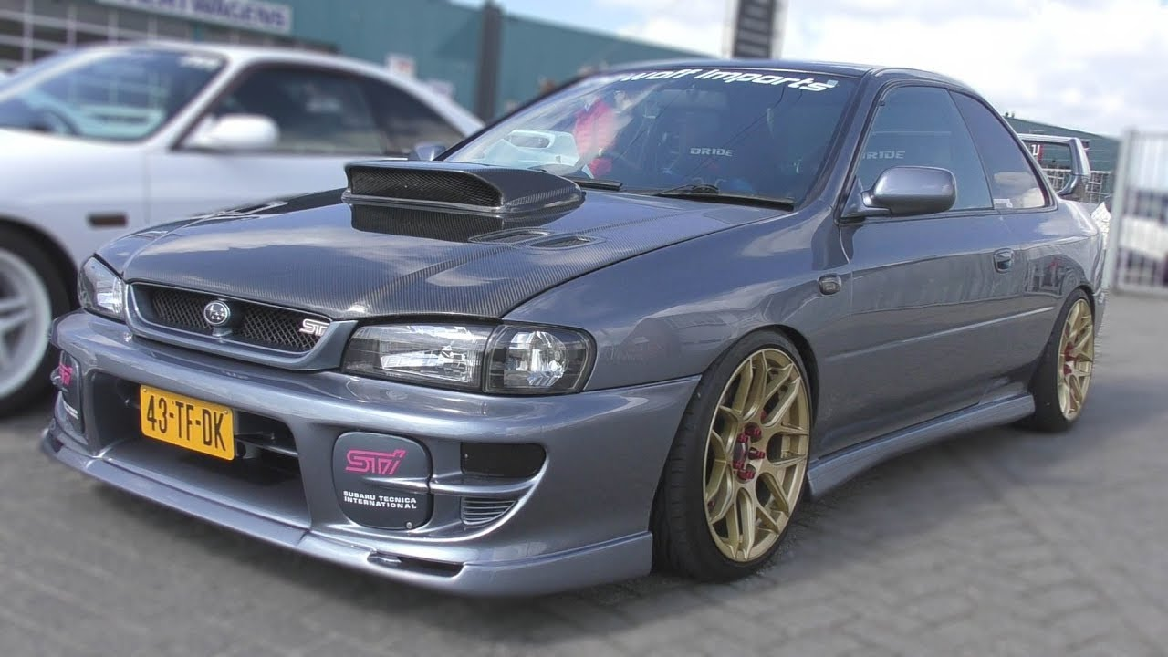 Subaru Impreza Gc8 Coupe V5 Type R Amazing Sounds Youtube