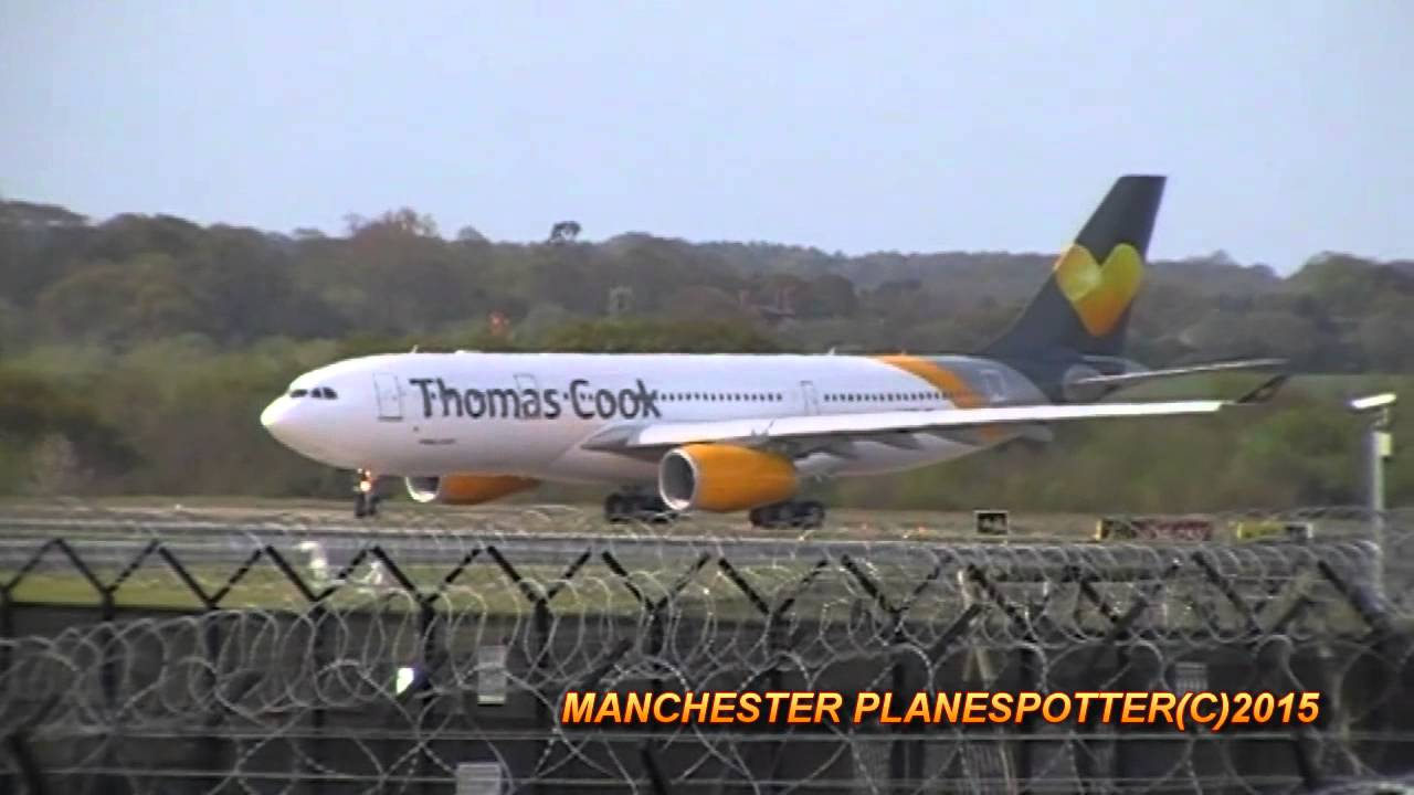 New Thomas Cook A330 G Vygk On Tcx168 Taxing Taking Off