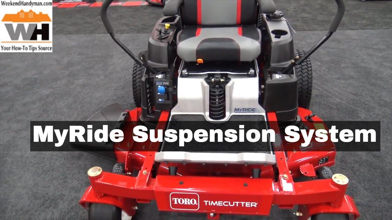 #Toro Timecutter MyRide Suspension System For Zero Turn Riding Lawn Mower |  Weekend Handyman