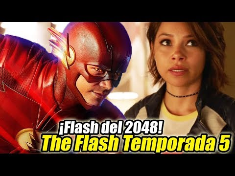 Flash del 2048! Killer Frost y Más - The Flash Temporada 5 Teaser