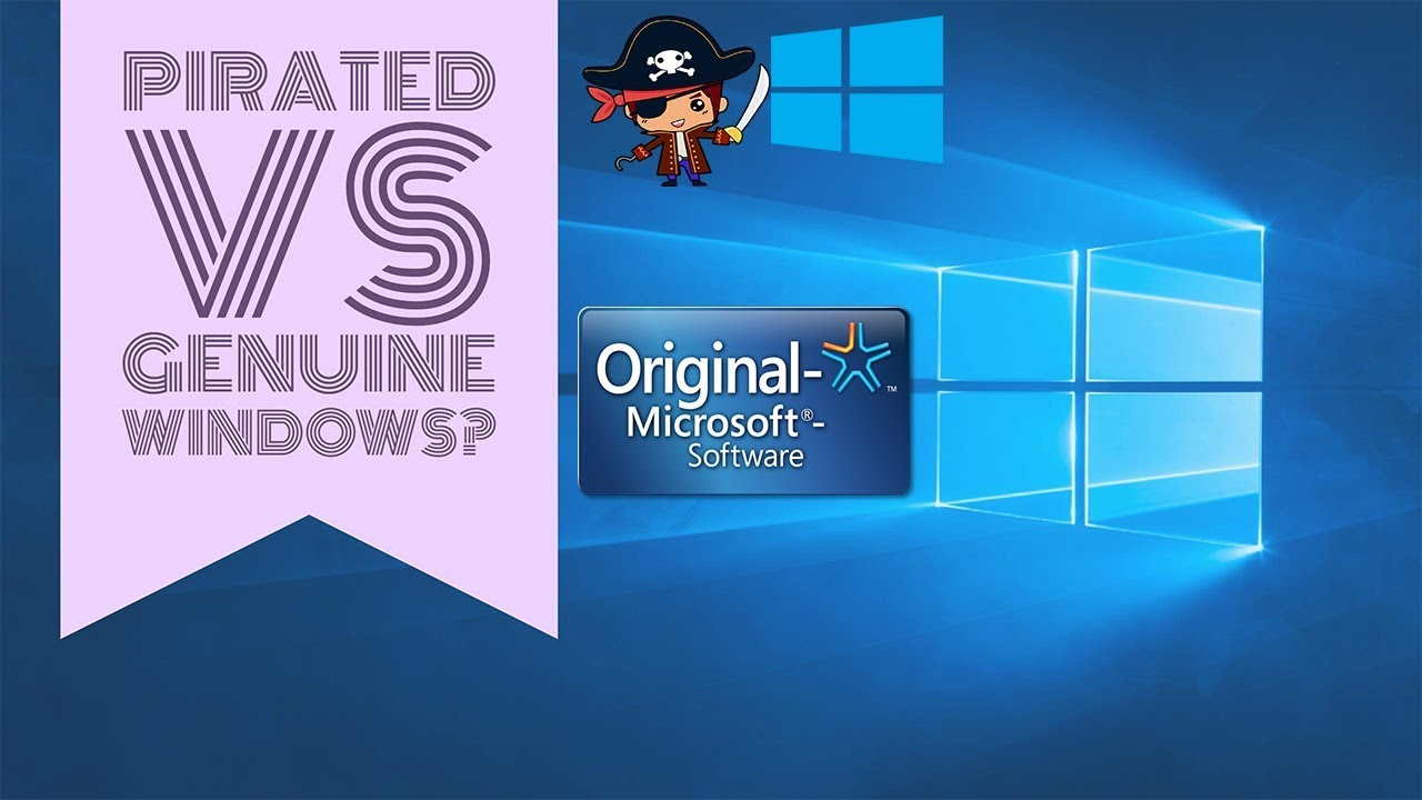 Owners of pirated Windows will be able to upgrade it to the new version for free 98