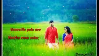 Kalavani 2 /#Vanavilla pola nee vanthu yenna valacha / love status /durai_editz