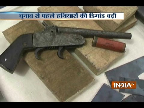 Police Bust Illegal Arms Factory In Bulandshahr, Recover Huge Cache Of Weapons