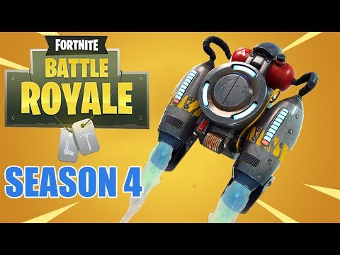 New Jetpack and Week 4 Challenges! - Fortnite Battle Royale Gameplay - Xbox One X