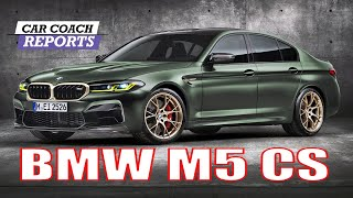 2021 BMW M5CS - First Look - OMG - SUPER FAST!