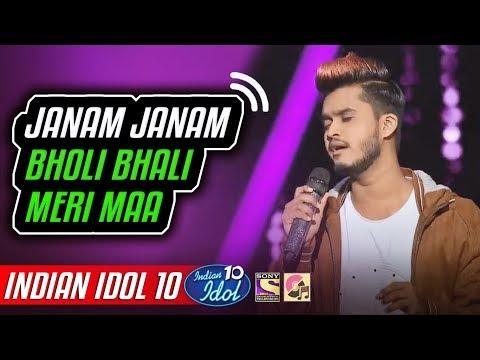 Janam Janam - Kunal Pandit - Indian Idol 10 - Neha Kakkar - 2018