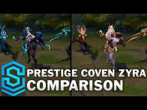 Prestige Coven Zyra vs Coven Zyra Comparison