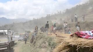 Zemětřesení v Nepálu - záběry otřesů z 12. 4. 2015