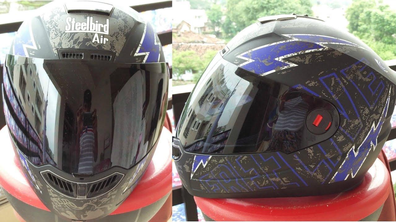 ecf82f80 Steelbird Air { SBA 1 FREE LIVE } Helmet   Review   - YouTube