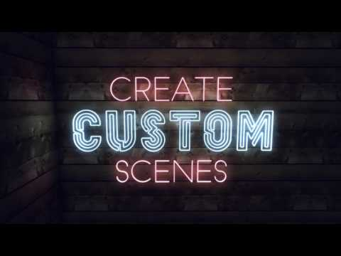 Neon text generator- Create realistic 3D neon signs directly from After Effects