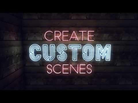 neon text generator create