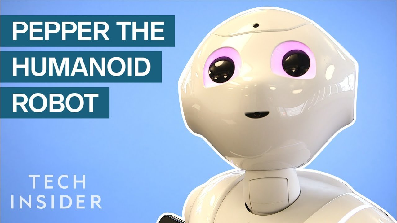 We Interviewed Pepper The Humanoid Robot Youtube