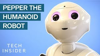 We Interviewed Pepper — The Humanoid Robot