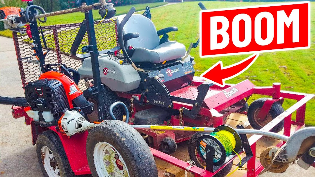 Best Lawn Care Setup For Beginners Youtube