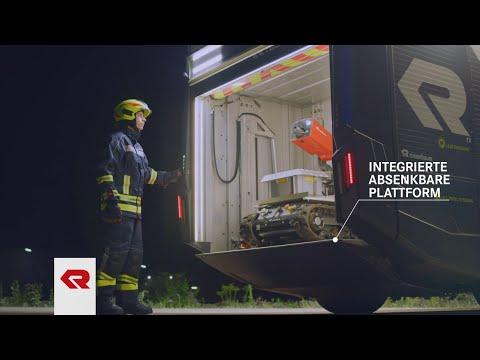 Concept Fire Truck – Raupenmanipulator