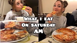 WHAT I EAT IN DAY ON SATURDAY  | Cosa mangio in un giorno  il Sabato | Healhy food | AM