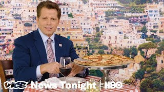 Watch Anthony Scaramucci Try To Compliment Trump (HBO)
