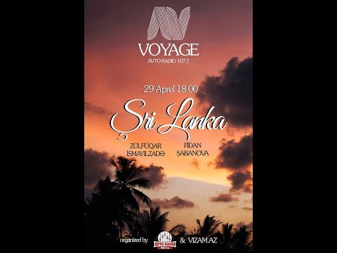 Voyage Radio Program-Şri Lanka