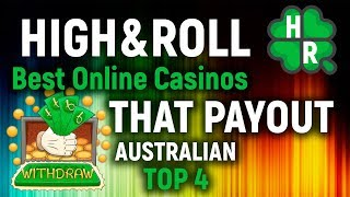 Best Online Casinos That Payout (Australian Top 4)