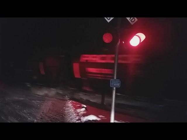 SLR 394 Detour Train with NS power, 2/1/18