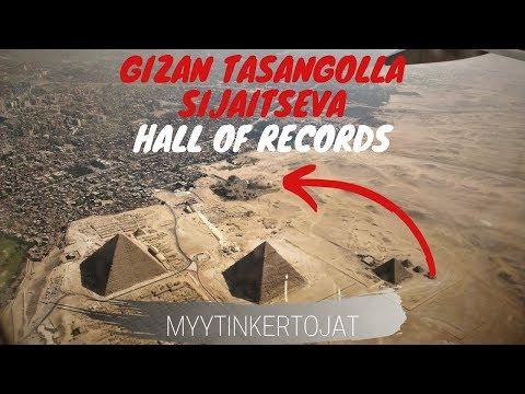 Gizan tasangolla sijaitseva Hall of Records