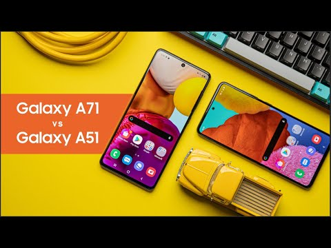 Samsung Galaxy A71 vs A51 -  What You NEED To Know Before Buying!