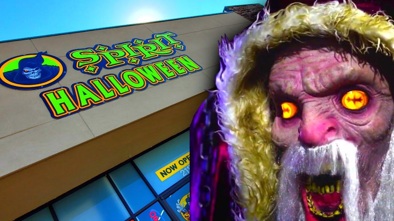 Halloween 2020 Day Opf Week SPIRIT HALLOWEEN 2020 in MADISON TENNESSEE !! THEY GOT KRAMPUS