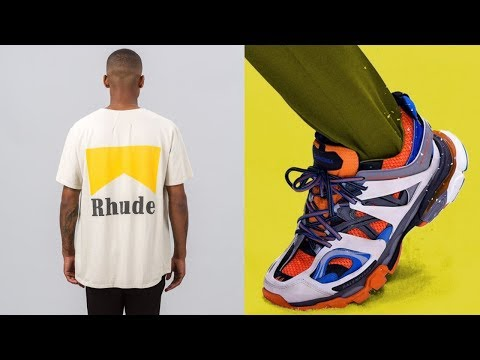 MOST HYPED STREETWEAR & FASHION BRANDS OF 2018!