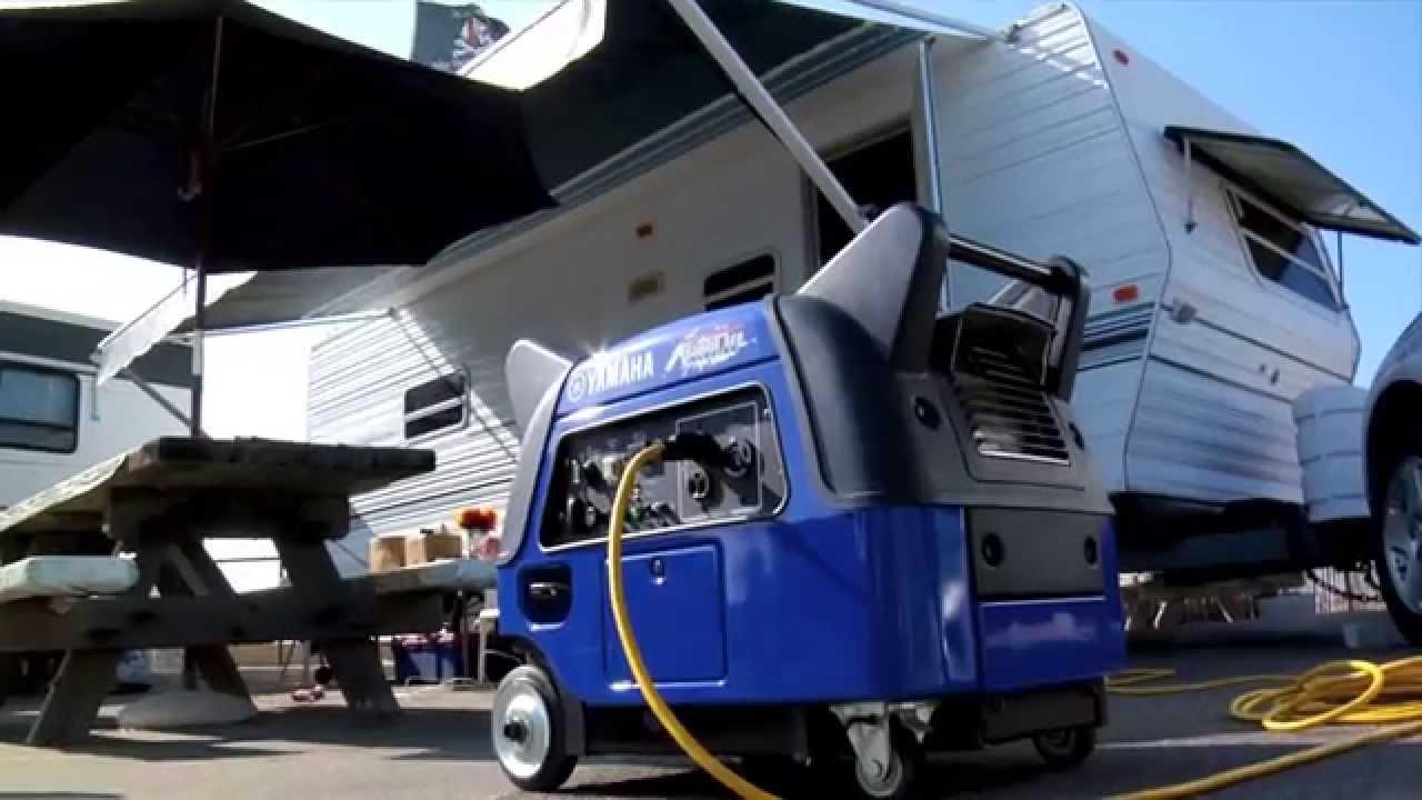Yamaha ef3000ise b generators the boost you need youtube for Yamaha ef3000ise inverter generator