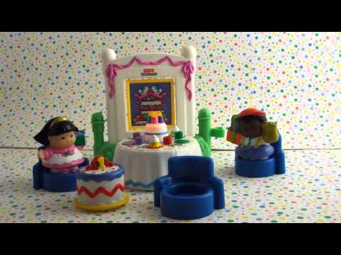Fisher Price Little People Birthday Party Playset