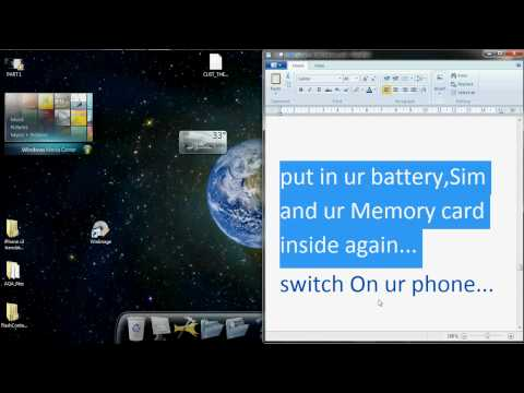 Step by Step install iphone themes to LG KP 500 part2